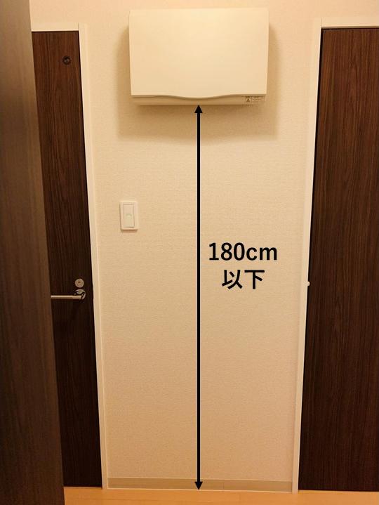 分電盤の高さ