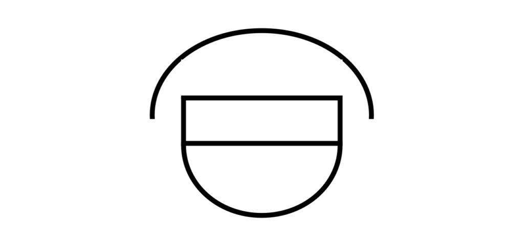 差動式スポット型感知器2種埋込形